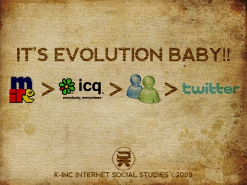 its evolution baby